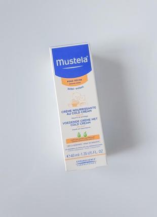Увлажняющий крем с колд-кремом mustela