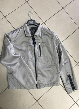 Куртка легкая весенняя фирменная модная armani размер 50