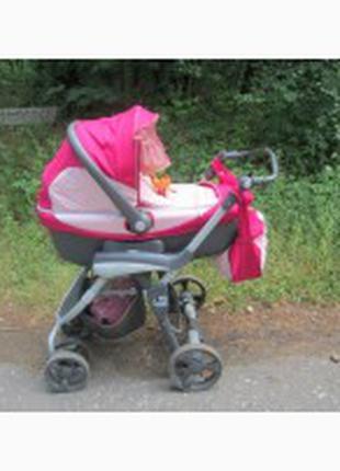 Отдам бесплатно детскую коляску итальянской фирмы САМ