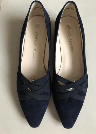Туфли фирменные стильные модные peter kaiser размер 38