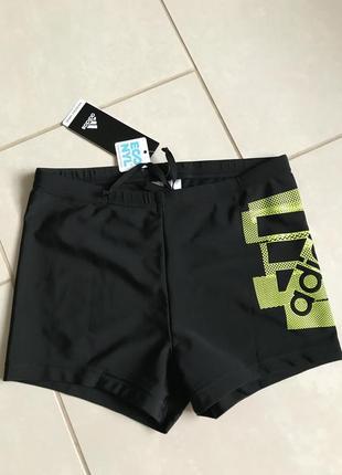 Плавки шорты фирменные стильные adidas размер s