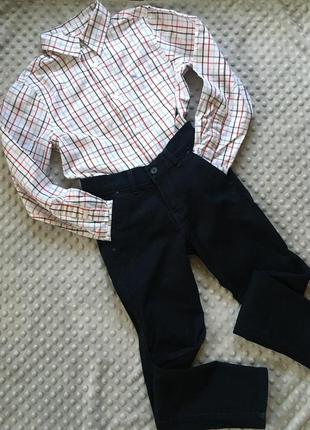 Комплект для школьника, брюки, рубашка