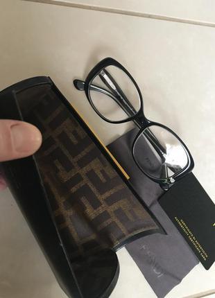 Оправа очки  фирменные стильные модные дорогой бренд fendi