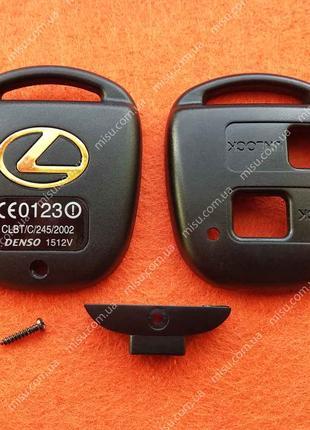 Корпус ключа Лексус ремонтный 2 кнопки