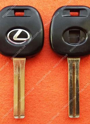 Корпус ключа Лексус без кнопок