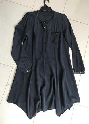 Платье шёлковое стильное модное дорогой бренд samsoe samsoe ра...