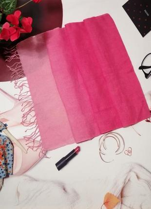 Красивый шарф, 100% хлопковый лен