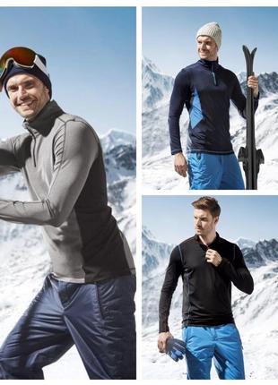 Функциональный термо реглан кофта лыжный беговой crivit германия
