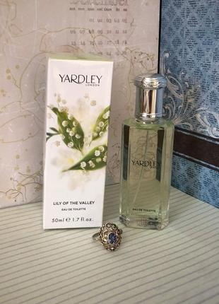 Духи yardley lily of the valley, тв 50 мл