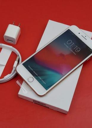 Apple iPhone 8 Plus 64 Gb GOLD — Neverlock, НОВЫЙ, SlimBox