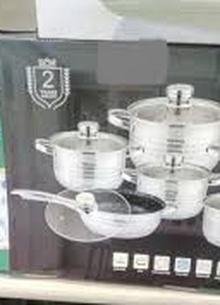 Набір посуду 12 предметів Rainberg RB - 601