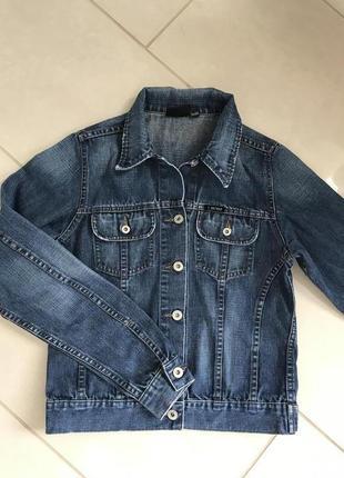 Куртка джинсовая стильная модная дорогой бренд firetrap размер s