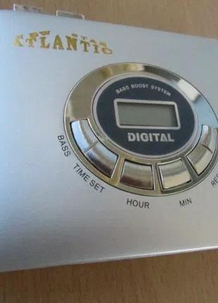 Плеер кассетный Atlantic AT-850 автореверс, FM приемник,новый, ЖК