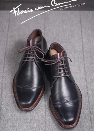 Дезерты floris van bommel, голландия кожаные туфли ботинки бу