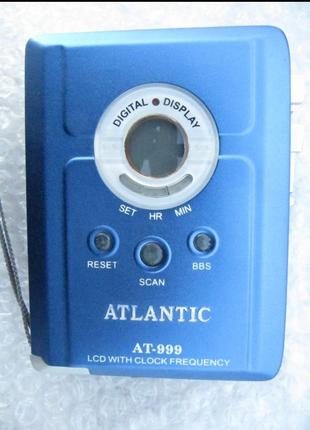 Кассетный плеер Atlantic AT-999 ЖКИ, автореверс, FM,супербас,новы