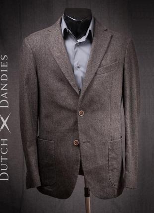 Блейзер премиум сегмента dutch dandies, голландия пиджак мужской