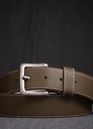Кожаный ремень brigitte hurzeler, швейцария пояс мужской премиум