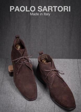 Дезерты paolo sartori, италия кожа 46р | туфли ботинки сапоги ...