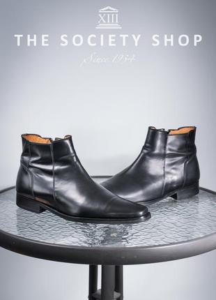 Сапоги soc13ty, голландия 45р кожаные ботинки мужские туфли so...