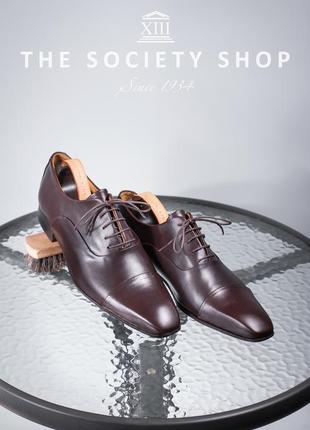 Оксфорды soc13ty, голландия 45 мужские туфли кожаные бу