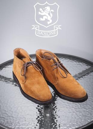 Дезерты saxone, англия 41,5-42р мужские ботинки туфли кожаные ...