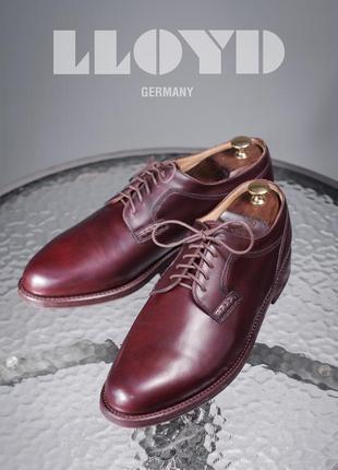 Дерби lloyd, германия 44,5-45р туфли мужские кожаные с европы