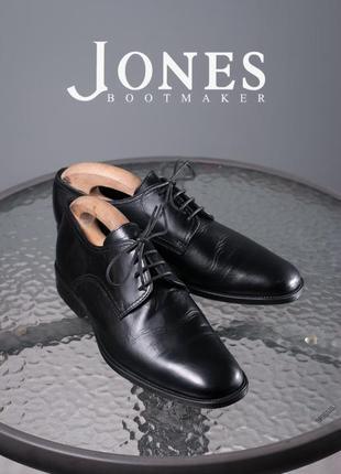 Дерби jones bootmaker, англия 43р мужские туфли кожаные