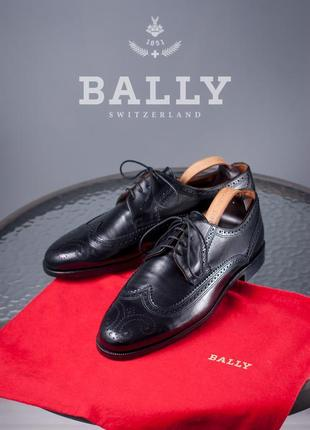 Дерби люкс класса bally, швейцария 44,5 размер мужские туфли к...