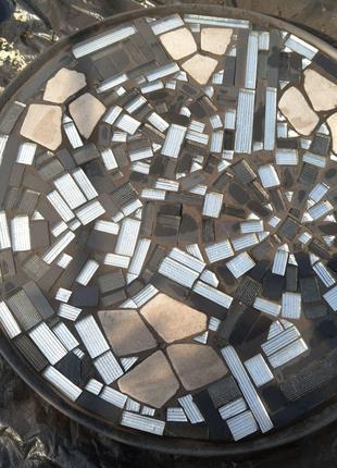 Мозаика в мебели и интерьере.