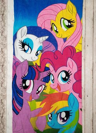 Пляжное полотенце маленький пони my little pony