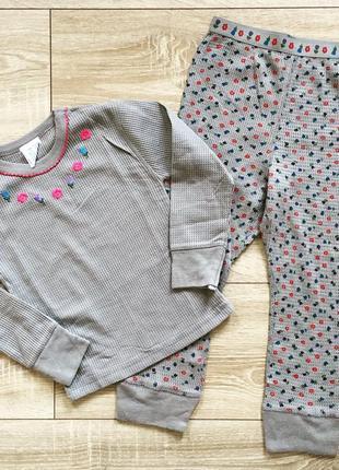 Тёплые пижамы на девочку распродажа