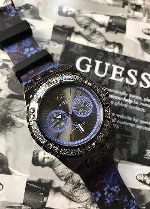 Новые часы guess с кристаллами swarovski