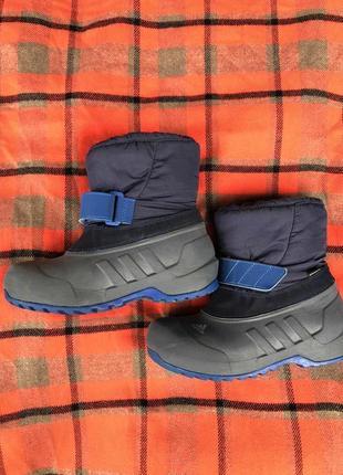 Детские сапожки дутики adidas размер 32!