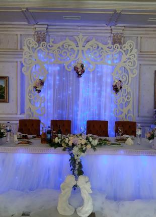 Декор и оформление свадеб ,юбилеев ,детские праздники