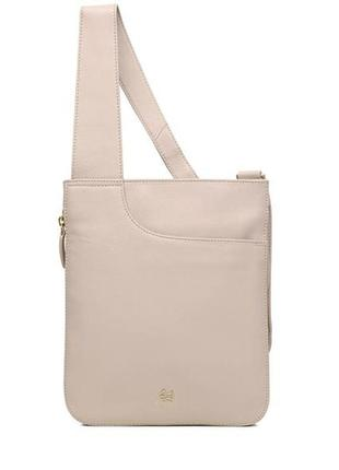 Radley кожаная сумка кроссбоди. оригинал.
