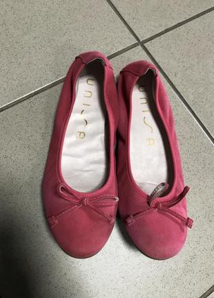 Туфли балетки стильные модные дорогой бренд unisa размер 35