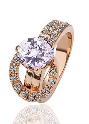🏵️ потрясающее ювелирное кольцо с фианитами, 18 р., новое! арт...