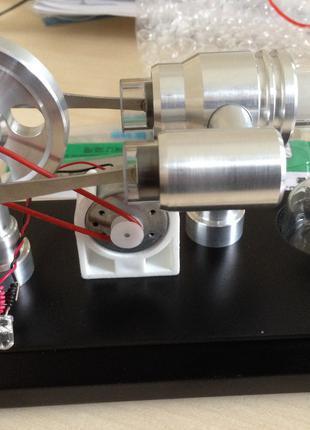 Двигатель Стирлинга Stirling Engine с генератором