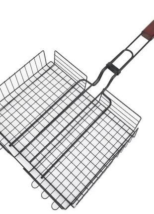 Решетка-гриль с высоким бортом, Сетавир, 28 x 20 x 4 см