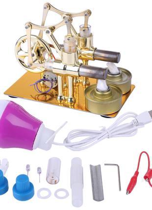 Высокотемпературный двигатель Стирлинг Stirling Engine High Te...