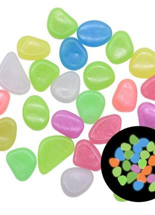 Светящиеся камни в ночи Glowing stones 50 шт