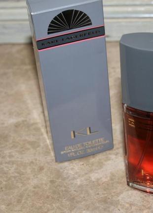 Супер парфюм! винтаж karl lagerfeld kl