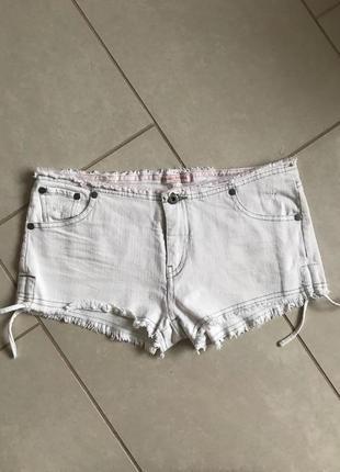 Шорты джинсовые стильный модный дорогой бренд bella ragazza ра...