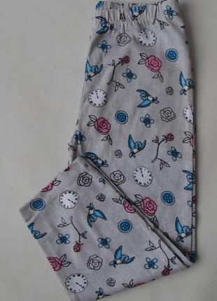 Пижама пижамные штаны primark англия 4-5 л 110 см