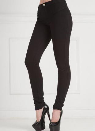 Женские брюки-лосины на байке, стильный вариант на каждый день...