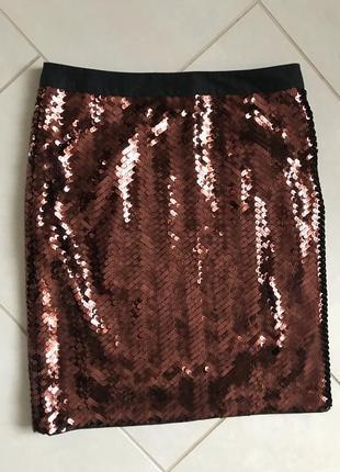 Юбка миди  стильная модная очень дорогой бренд see by chloe ра...