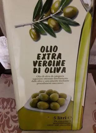 Масло оливковое «Де Олива» 5л. Италия