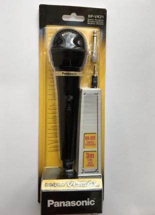 Микрофон Panasonic RP-VK21. Новый !