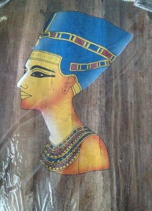 Египет сувенир папирус. Египетский папирус с изображением Нефе...