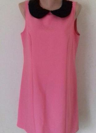Красивое платье с кружевным воротничком f&f